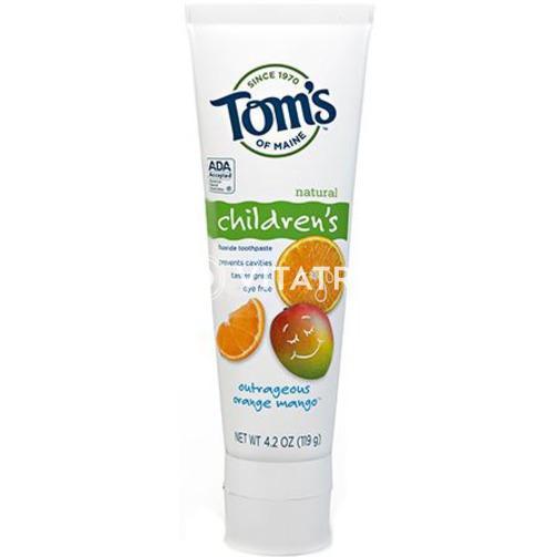 탐스 어린이 치약, 오렌지 망고 (4.2 oz)
