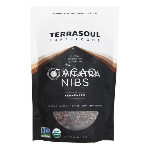 페루산 테라소울 유기농 카카오 닙스, 454g