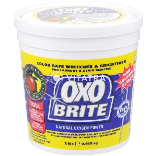 얼스프렌들리 Oxo Brite 천연 산소 분말 세제 (2 lbs.)