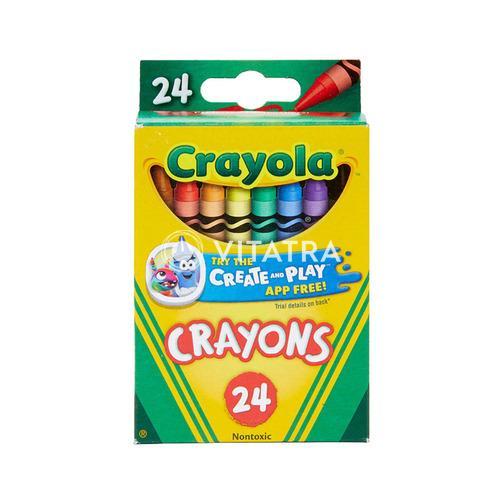 크레욜라 크레용 24 색