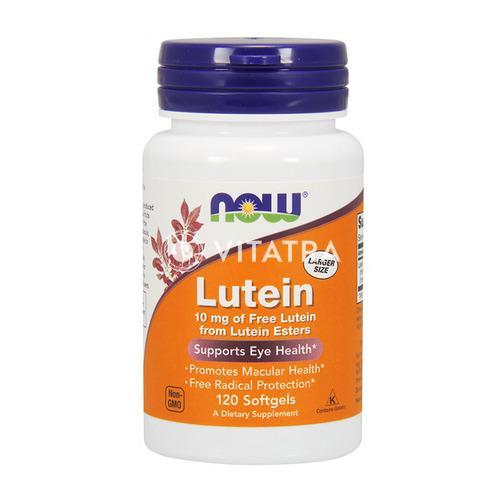 눈 건강에 효과적인 나우푸드 루테인, 10mg, (120 소프트젤)