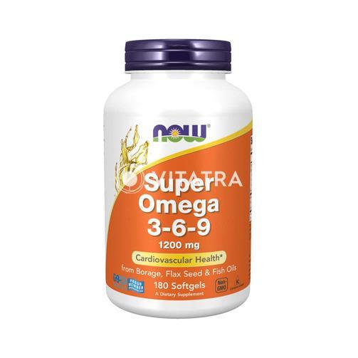 나우푸드 수퍼 오메가 3 - 6 - 9, 1200 mg, (180 소프트젤)