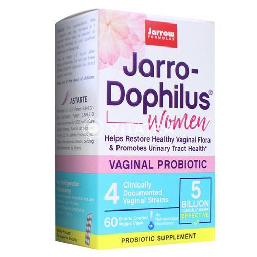 여성의 질 건강, 요로 건강에 도움을 주는 자로우 포뮬러스 '여성용 50억 유산균', 60캡슐